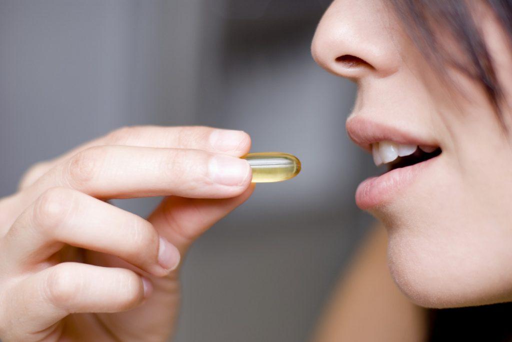 woman vitamin