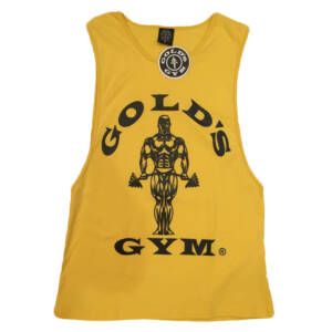 yellow golds muscle t