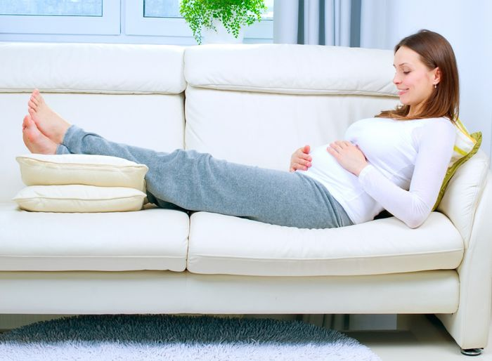 normal cramps pregnant