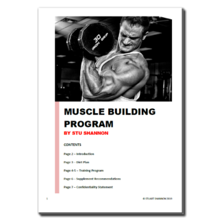 Buy Advanced Muscle Building Program • Universal Supplements