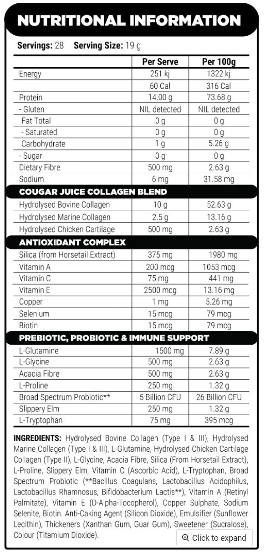 cougar juice